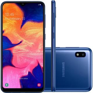 Smartphone Samsung Galaxy A10 6.2 32gb Azul - A105m