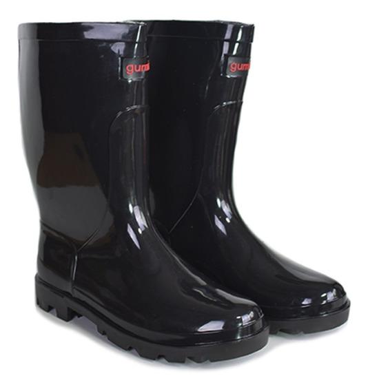 Botas De Lluvia Dama Caña Corta Marca Gummi By Shoes Bayres