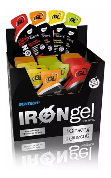 Gentech Gel Energia + Ginseng Sin Tacc 24 Sobres X Caja