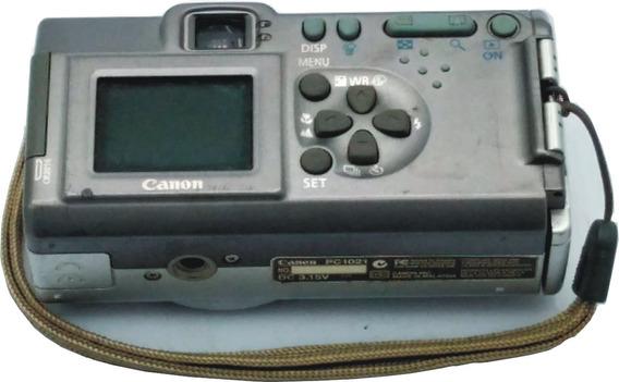 Câmera Fotográfica Canon Power Shot A100 ( No Estado )