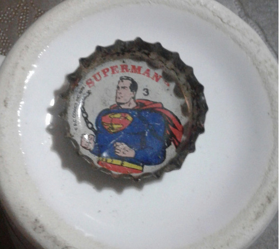 Chapita Gaseosa Coleccion Pepsi Superman
