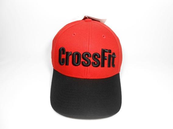 Boné Reebok Crossfit Rcf Laranja E Preto