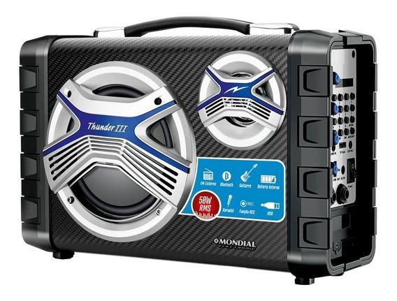 Caixa Multi Connect Mondial 50w Mco-03 Preto - Bivolt