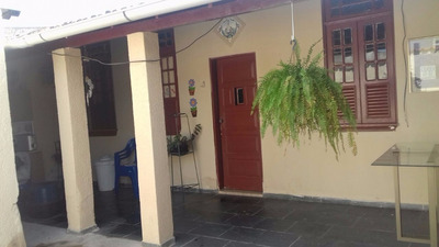 Casa 2 Quartos, Com 1 Loja Em Sepetiba, Pronta P/ Morar