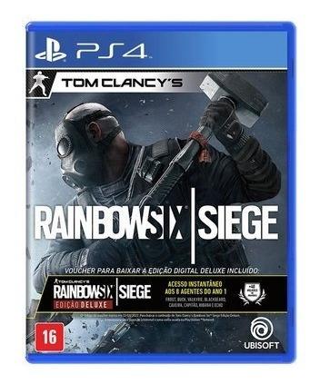 Tom Clancys Rainbow Six Siege Edição Deluxe Mídia - Ps4