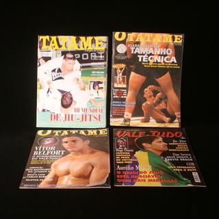 Quatro Revistas Colecionáveis Do Início Do Mma