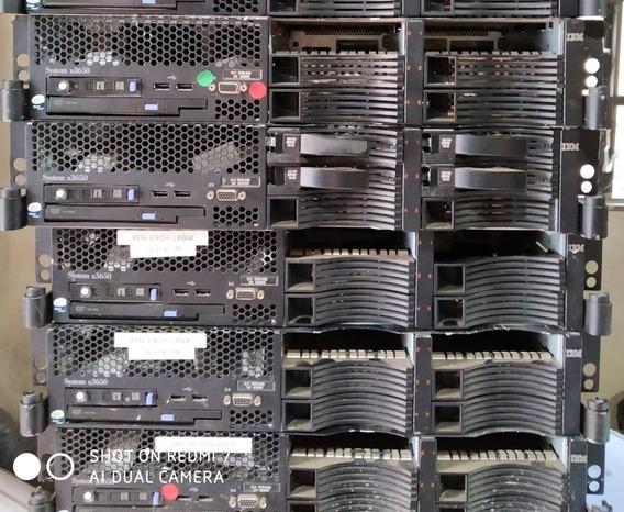 2 Servidor Ibm X 3650 32gb Hd1tb Processador Xeon Quad 2.66