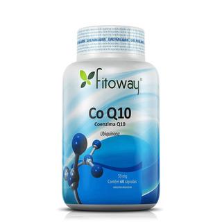 Coenzima Q-10 50mg Fitoway - 60 Cáps