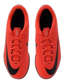 Chuteira Nike Cr7 Vapor 12 Club Gs Ic + Nf