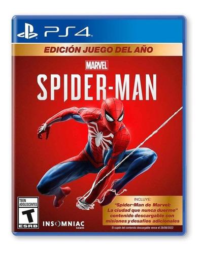Imagen 1 de 4 de  Spiderman Goty Edition- Playstation 4