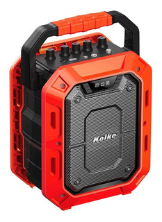 Parlante Kolke Bluetooth Kpm 259 Impact Rojo