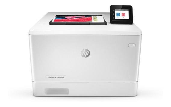 Impressora Hp Color Laserjet Pro M454dw (a4) Rede Ewireless