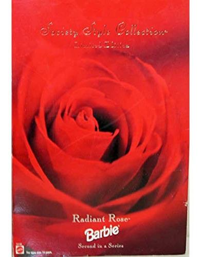 Radiant Rose Barbie Doll  Mattel  Society Style 2nd  Edicio