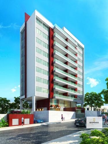 Imagem 1 de 8 de Apartamento À Venda, 4 Quartos, 2 Suítes, 2 Vagas, Farol - Maceió/al - 923
