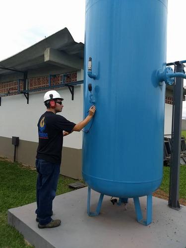 Imagem 1 de 4 de Inspeção De Vasos De Pressão / Laudo Compressor - Nr13