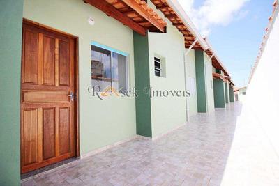 Casas Lado Praia Com 2 Dorms, Cibratel Ii, Itanhaém - , Cod: 60 - V60