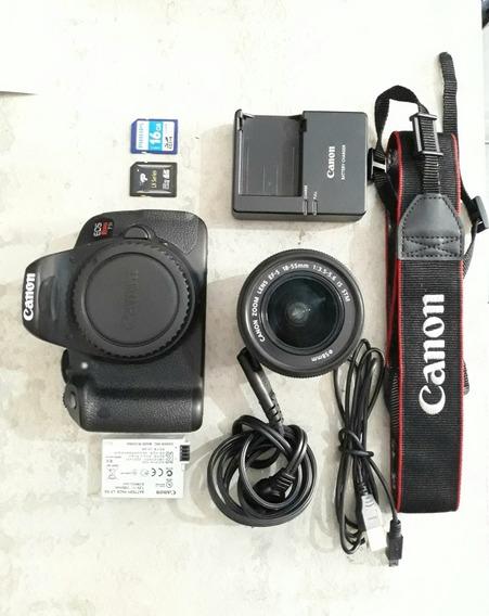 Canon T5i + Lente 18-55 + Acessórios
