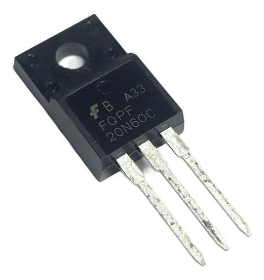 Fqpf 20n60 C Transistor Mosfet 20a 600v Fqpf20n60c To220f