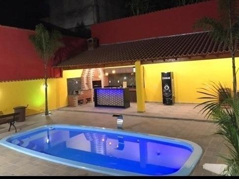 Imagem 1 de 12 de Casa Com Piscina Aluguel