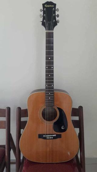 Violão EpiPhone Ft145 Texan Japan (troca Fender Takamine)