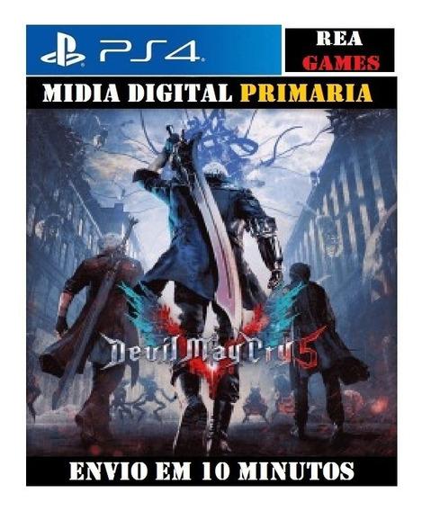 Devil May Cry 5 Ps4 Digital Original 1 Envio Imediato