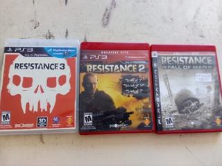 Saga Completa Resistance Ps3