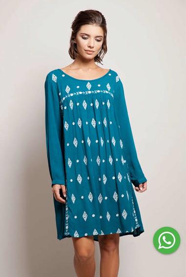 Vestido Santa Bohemia Bordado Rapsodia India Style