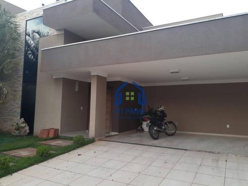 Casa Com 3 Dormitórios À Venda, 200 M² Por R$ 800.000,00 - Residencial Village Damha Rio Preto I - São José Do Rio Preto/sp - Ca2656