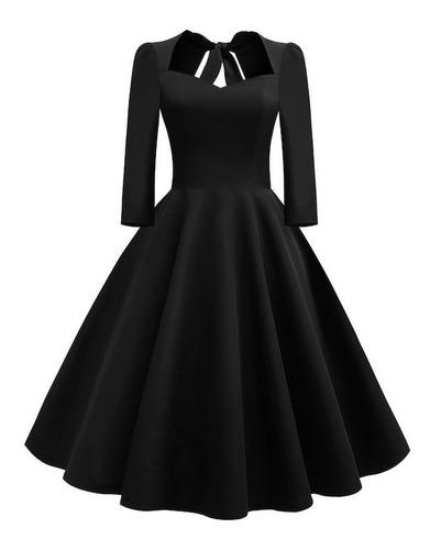 Vestido Pinup Goth Gótico Te91