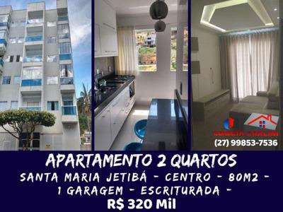 Apartamento Para Venda Em Santa Maria De Jetibá, Centro, 2 Dormitórios, 1 Suíte, 1 Banheiro, 1 Vaga - 101108