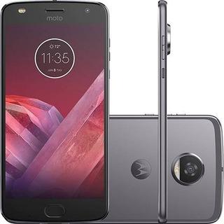 Motorola Z2 Play Dual Sim 64gb Cinza-lunar 4 Gb Ram+pelicula