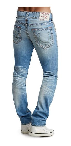 Pantalon True Religion 31 Slim Fit Old Multi Big T Jean