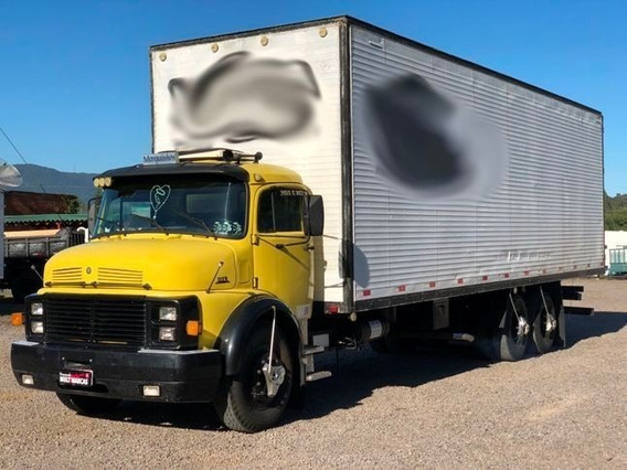 Mercedes Benz L 1113 - Baú 9.50m Truck 6x2