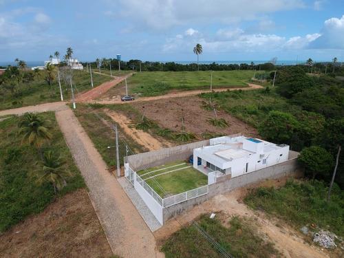 Imagem 1 de 11 de Casa Nova Com 382m² Em Paripueira Próximo A Praia Sonho Verde Por 370mil !! - 583