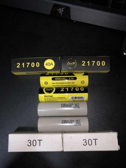 4 Baterias Para Vape 21700