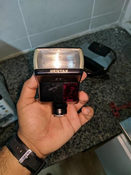 Flash Pentax Af-330 Ftz + Bolsinha