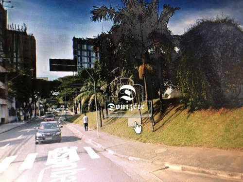 Terreno À Venda, 1200 M² Por R$ 5.000.000,00 - Jardim - Santo André/sp - Te1017