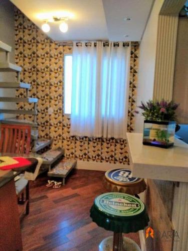 Cobertura Com 2 Dormitórios À Venda, 110 M² Por R$ 480.000 - Taboão - São Bernardo Do Campo/sp - Co0002