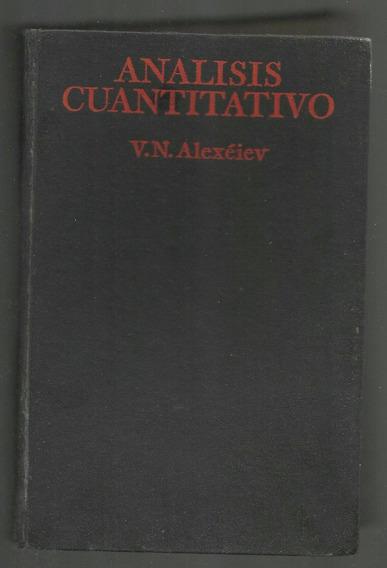Analisis Cuantitativo - V. Alexéiev