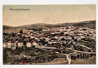 Cartão Postal Vista De Cambuquira Mg - Anos 20
