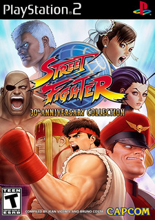 Street Fighter 30th Anniversary Collection - Ps2 Edition