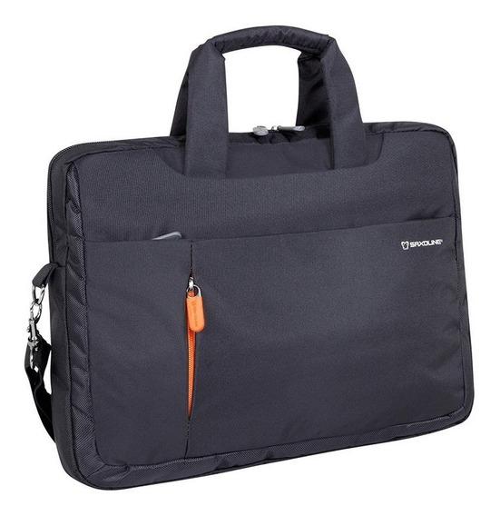 Maletín Ejecutivo Saxoline 3-way Computer Bag 668 Negro