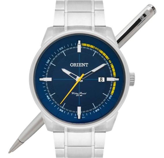 Relógio Orient Masculino Mbss1295 D1sx Analógico - C/ Nfe