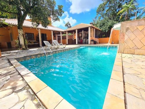 Chácara Em Itanhaém Com Piscina 4 Dormitórios Por R$490.000,00 - Ch00005 - 69394856