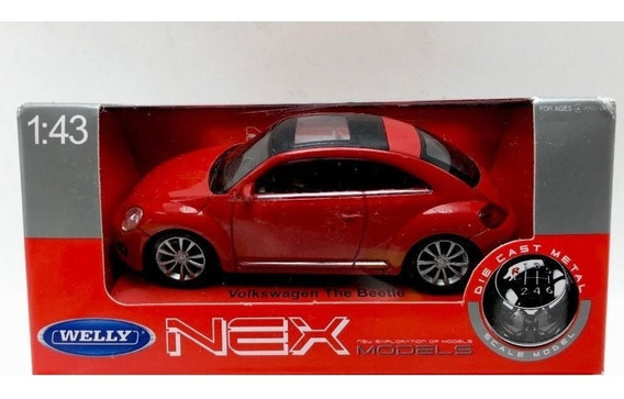 Auto Volkswagen The Beetle 1:43 Welly Original Baloo Toys