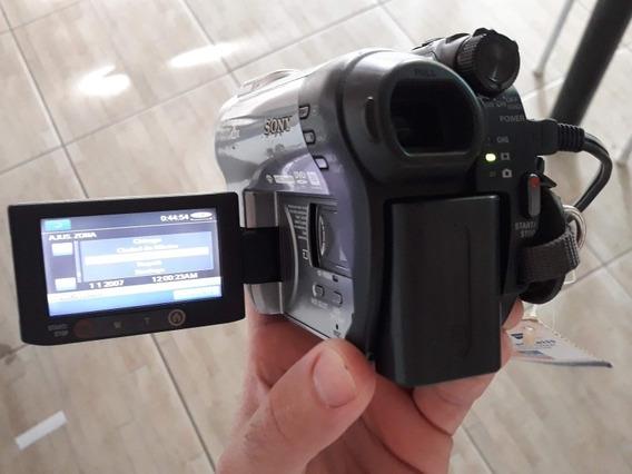 Filmadora Sony Dcr-dvd308 - Funcionando - Bateria Ruim