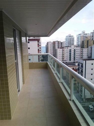 Imagem 1 de 9 de Apartamento 2 Dormitorios 300 M Mar - Entrada190 Mil  Am45