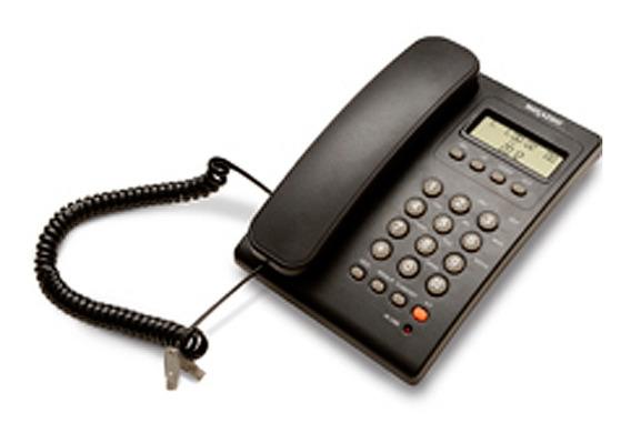 Teléfono Alámbrico Identificador Lcd 8836ss Select Sound