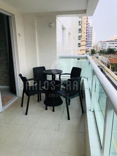 Imagem 1 de 15 de Apartamento 2 Dormitórios A 100 Metros Praia Ocian - Cf63383