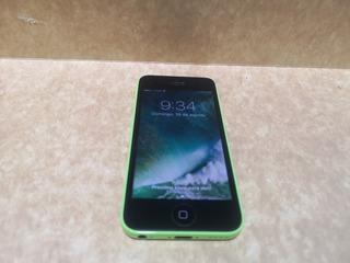 iPhone 5c Verde 8gb 10/10 + Cargador + Audifonos +caja Libre